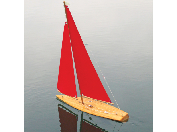 Wooden Mini Yacht | Make: