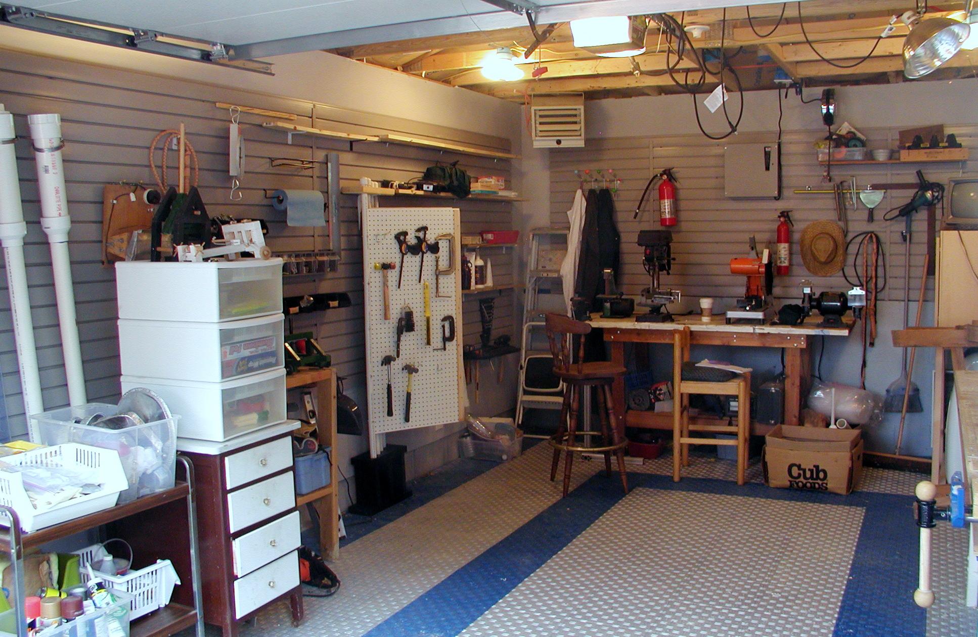 Building the barrage garage part 2 make - Best home garages set ...