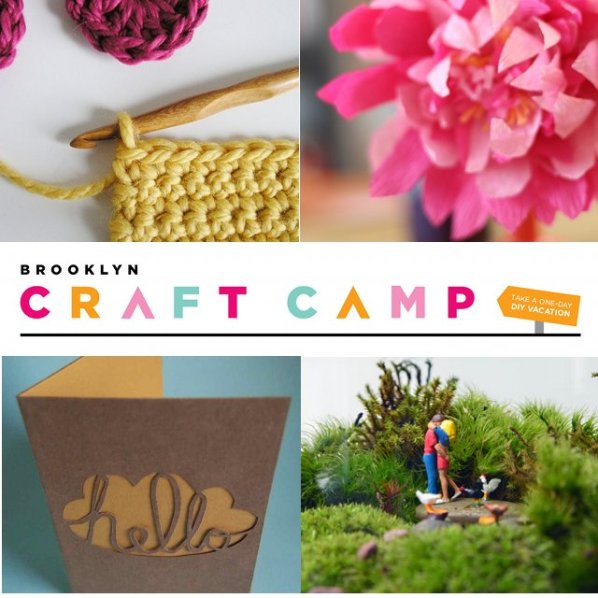 Brooklyn Craft Camp collage image