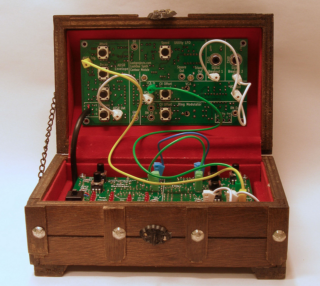 Treasure Chest Synth - Front View