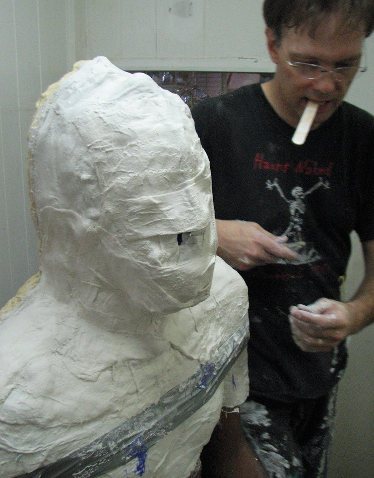 edwin mummy cast