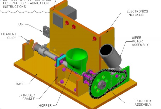 Lyman Extruder Diagram