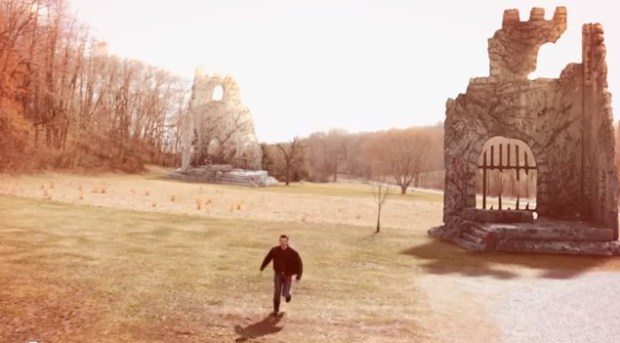 Tyler builds a Castle Ruin Set Extension from Foam Board.
