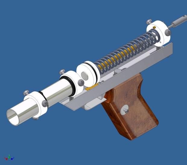 Nerf Gun Interior