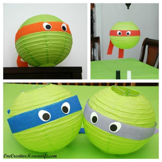 Ninja Turtle Lantern