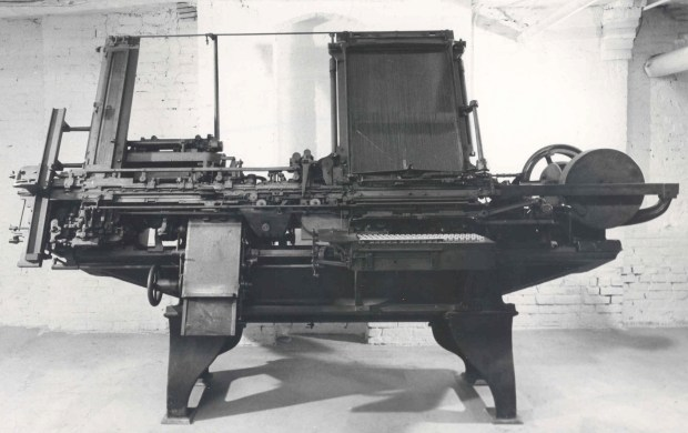 """The """"Compositor"""" of James Paige, the Victorian robotic equivalent of a nimble-fingered, teenage Sam Clemens. The Charles Babbage Difference engine, also a conspicuous failure, was a """"mere commonplace"""" compared to this """"awful mechanical miracle."""""""