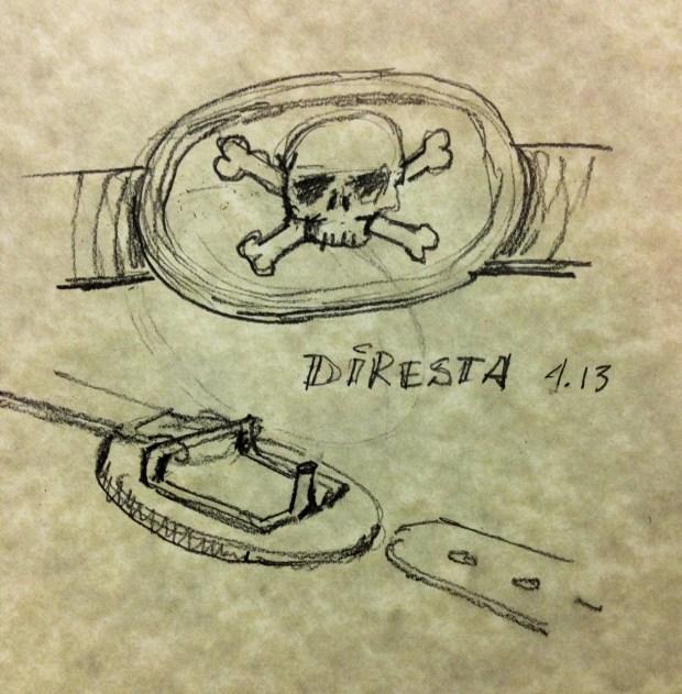Diresta Skull