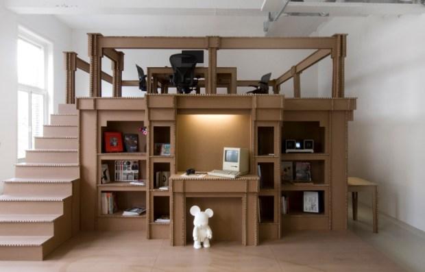 diy.org Joost-Van-Bleiswijk-Nothing-Cardboard-Office-1