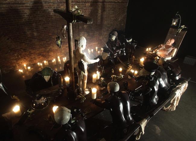 Last Supper installation