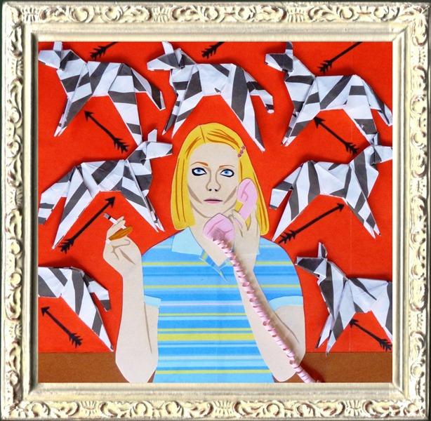 Royal_Tenenbaums_paper_art _origami_flickr_roundup