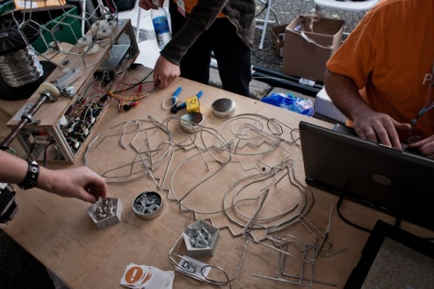 DIWire table at Maker Faire NY 2012