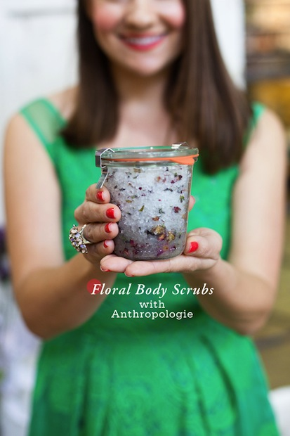 How-To: Floral Body Scrubs