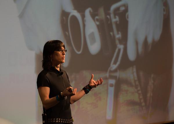 Data cruncher Rachel Kalmar.