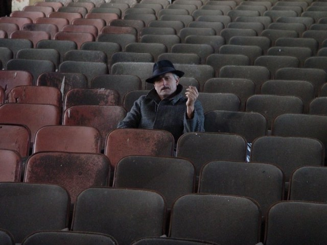 JL in Norwich Insane Asylum Theater copy