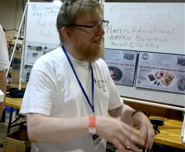 Ben Harris of Harris Educational and Alamance Makers Guild