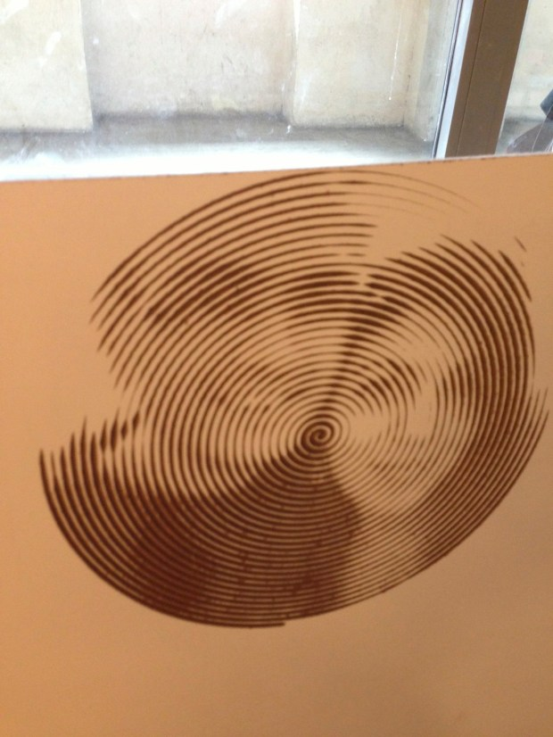 Portrait made from photo on CNC machine