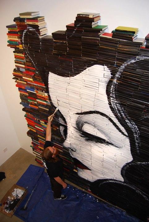mike stilkey girl wall