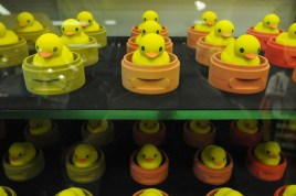 "Ducks in a row [courtesy of Toys ""R"" Us Asia]"