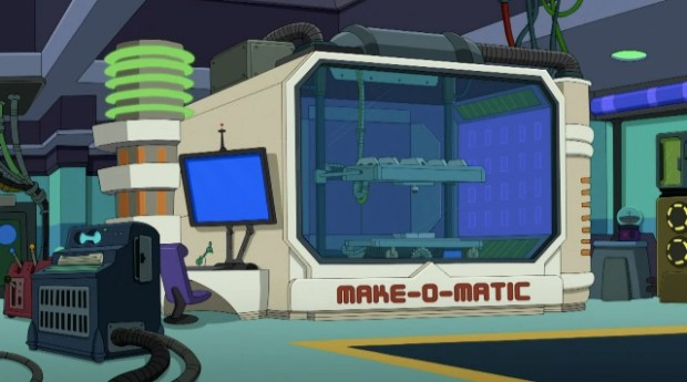 futurama make-o-matic