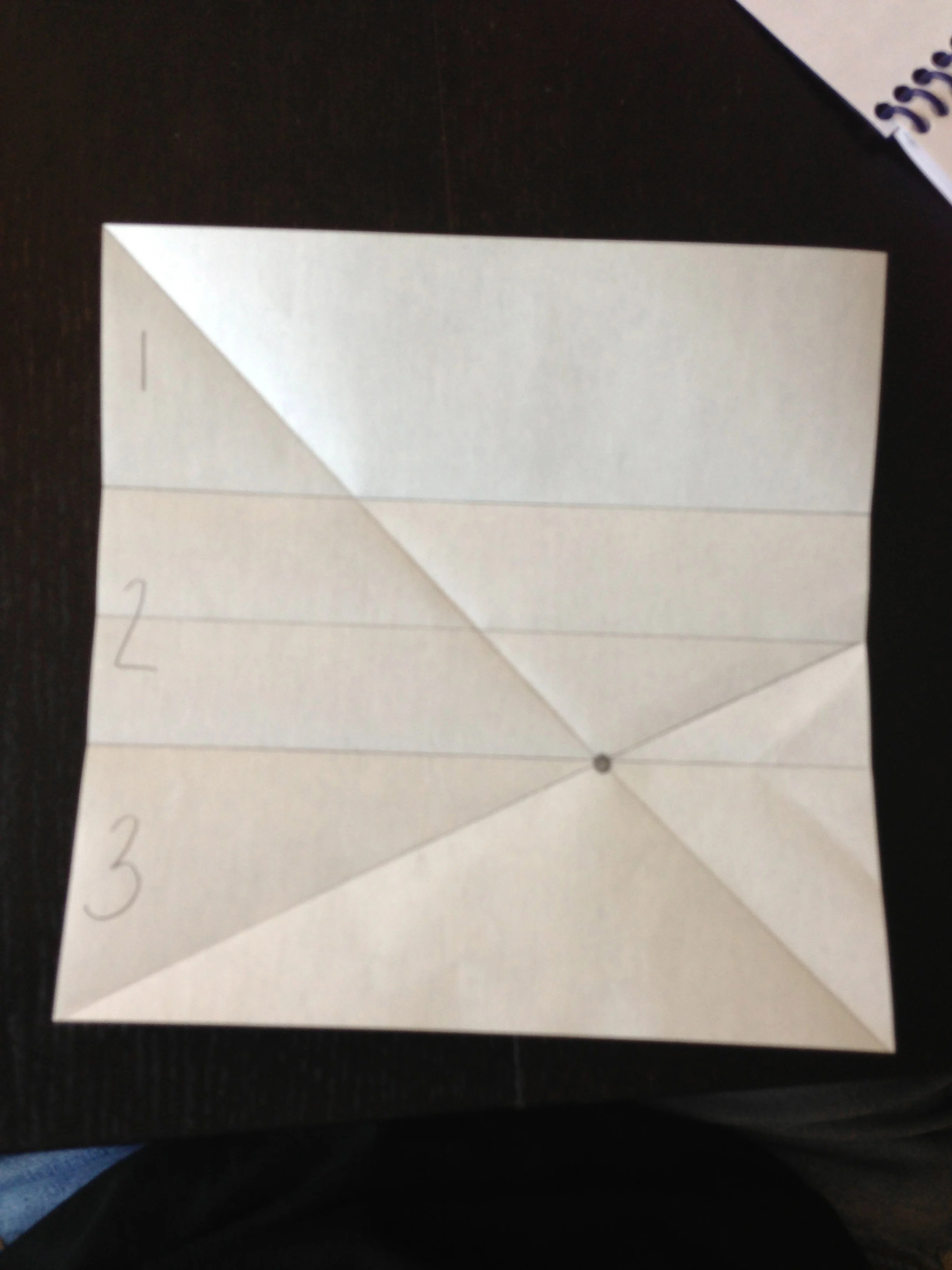 How To Fold Origami Paper Into Thirds Make