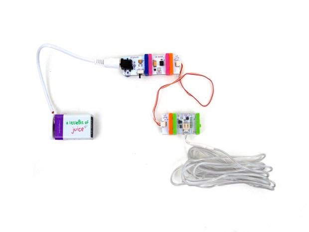 Unihorn Bike Helmet with littleBits