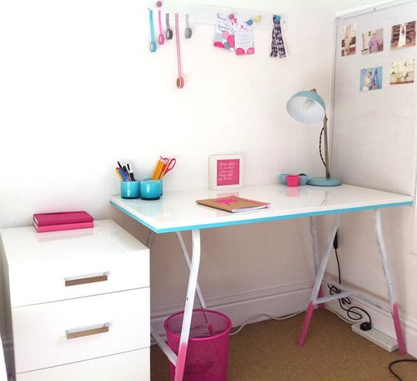 dipped desk