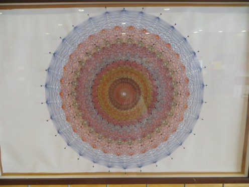 """E8 polytope stringy art"" by Jose L. Rodriguez"