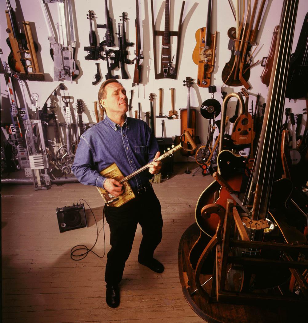 Ken Butler's Hybrid Instruments | Make: