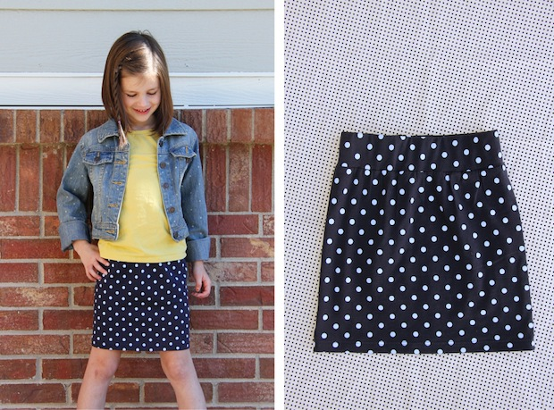 How-To: 30 Minute Stretchy Tube Skirt