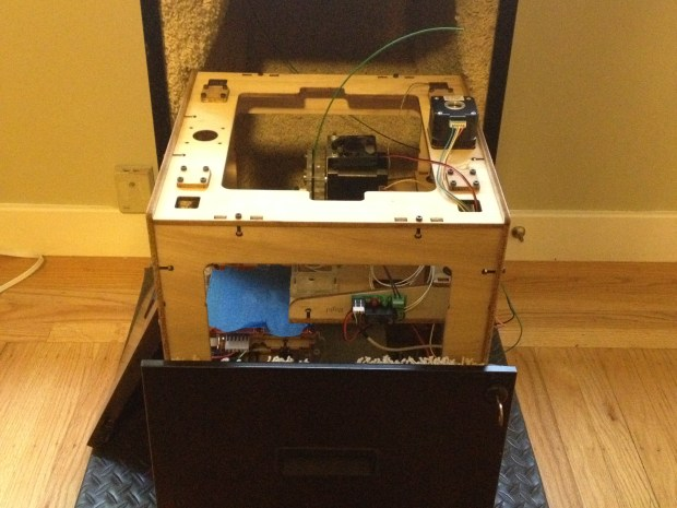 3D Printer Sound-Dampening Enclosure From an old Filing Cabinet