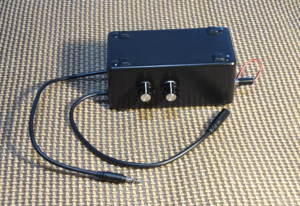Bass Bump Headphone Amp | Make: