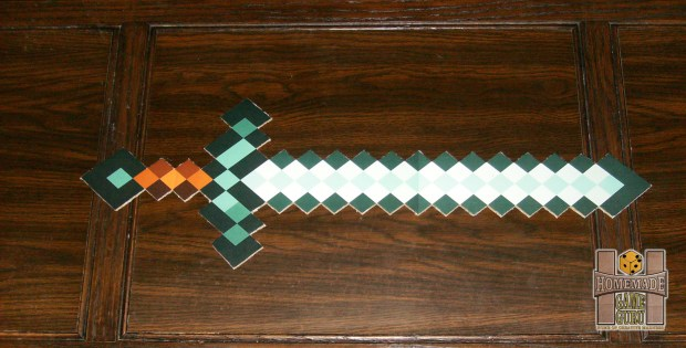 Simple Cardboard Minecraft Sword