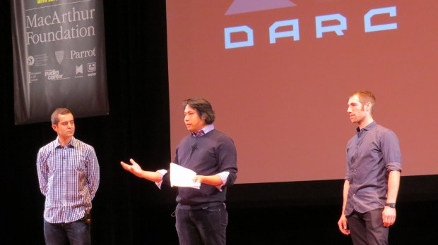 Ben Moskowitz, Chris Wong, and Dean Jansen of the DARC.
