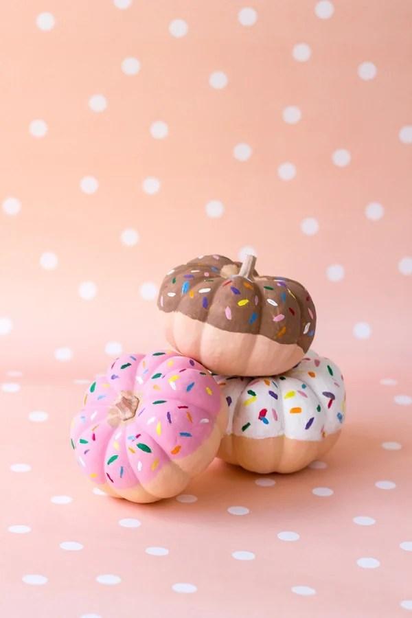 DIY-Donut-Pumpkins-1