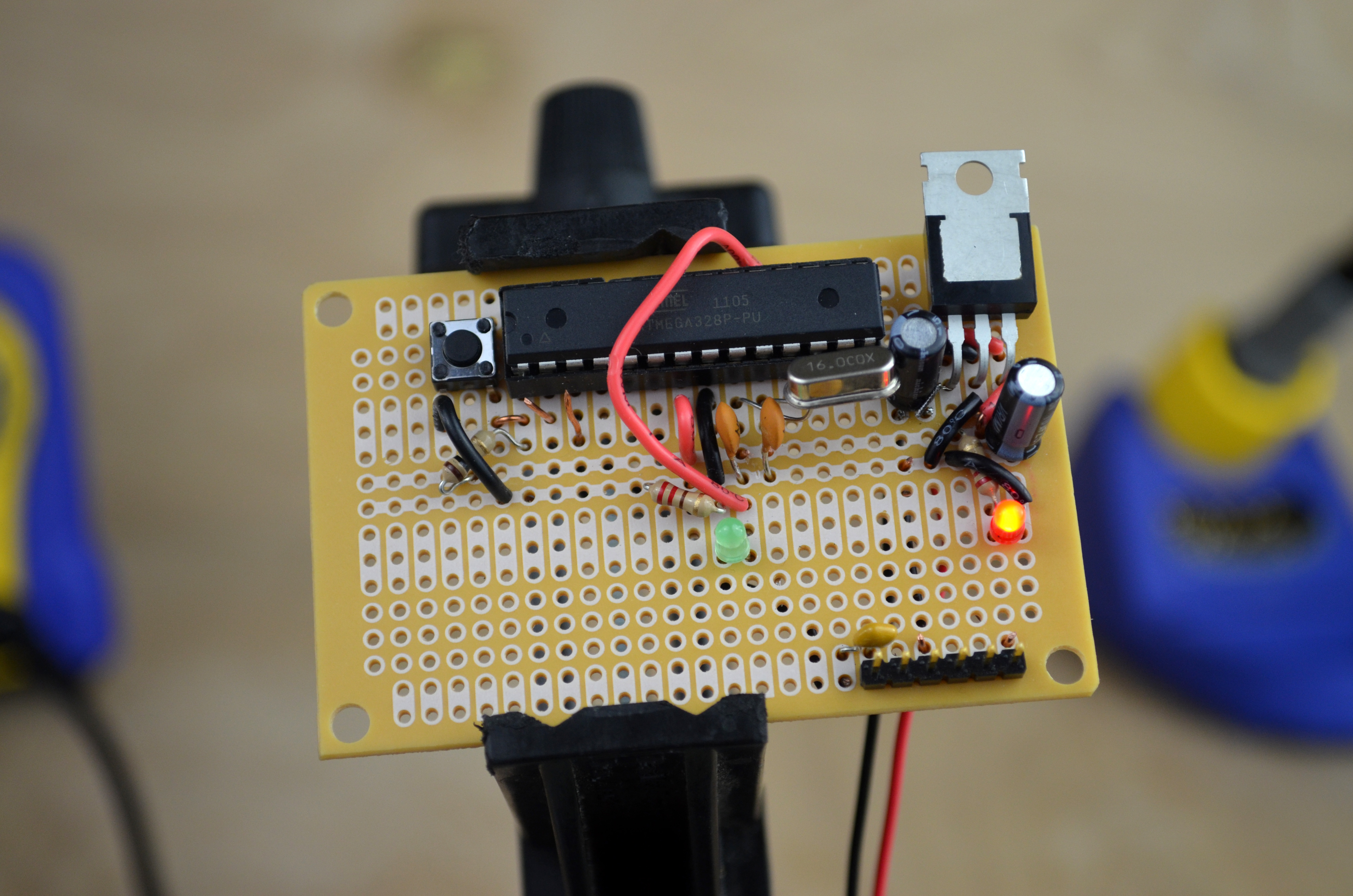 Picture Of Step 1 Schematic Overview Construction On Breadboard