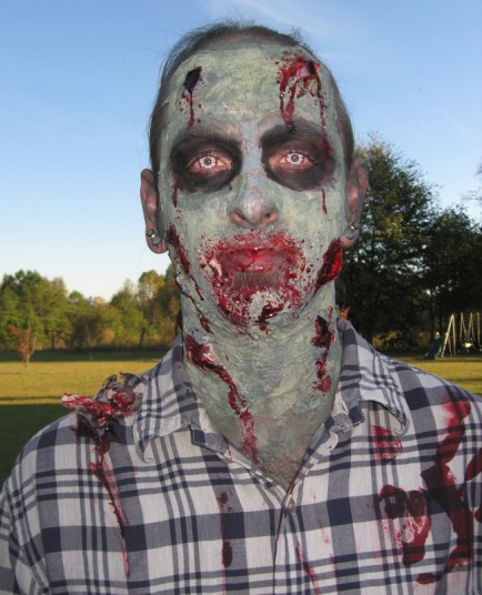 Zombie Halloween 2010 - Face