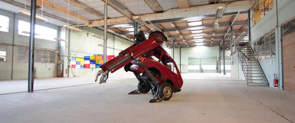 Transformer-in warehouse