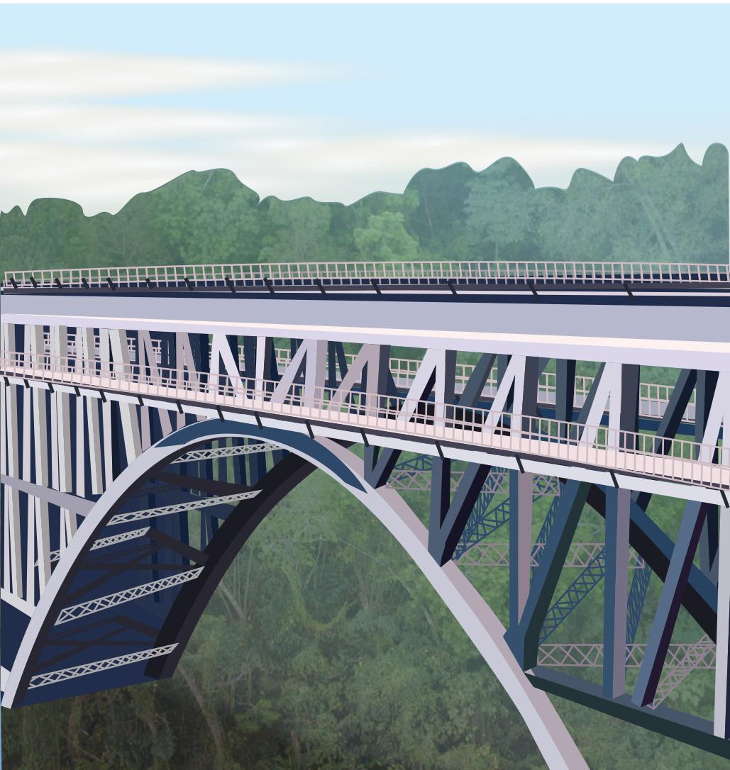 Make A Warren Truss Bridge With Popsicle Sticks Beam Diagram Of The Design Concept