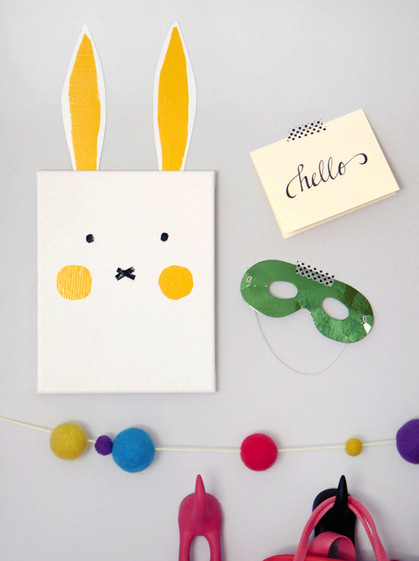 bunny wall art-2