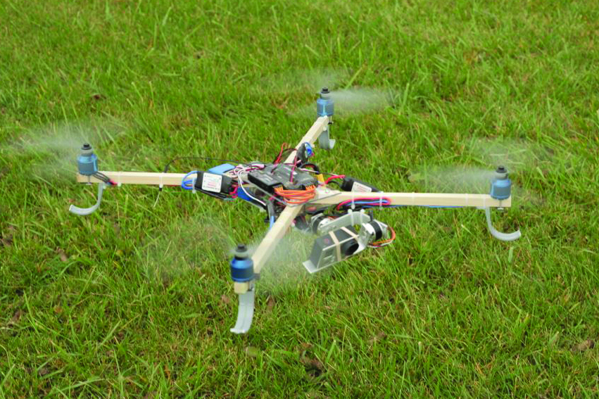DIY Hardware Store Drone with Stabilized Camera | Make: