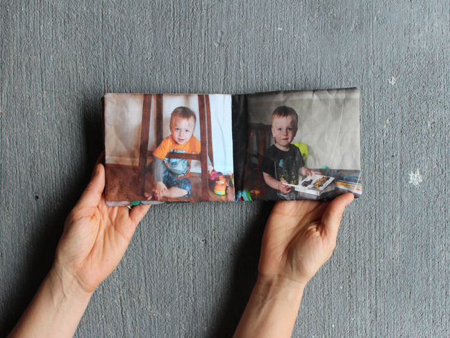 How-To: Fabric Picture Book