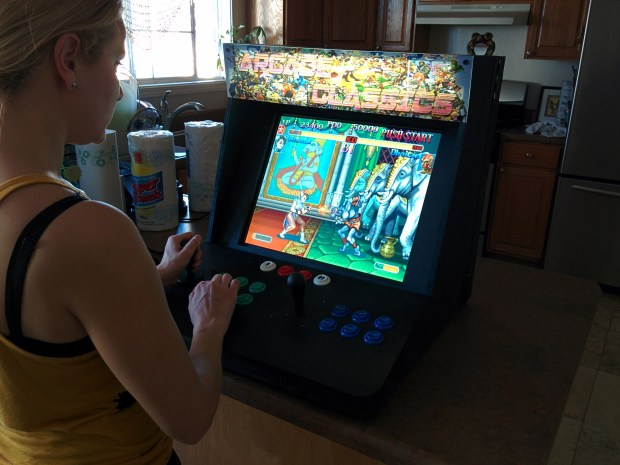 Bartop Video Arcade from an Old PC