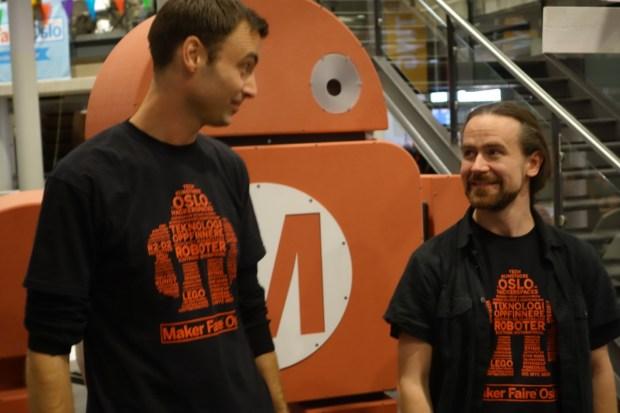 Jon Haavie and Roger Antonsen