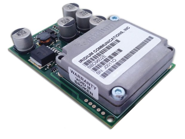 The RockBlock Naked Iridium modem costs about $250 (plus small monthly access and data charges) and lets you communicate with your project, through the web, anywhere on the surface of the planet you can get 100mA at 5V DC.