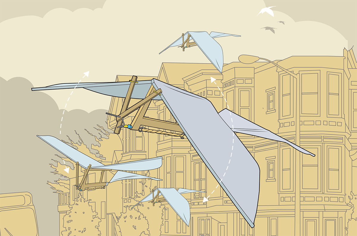 building an ornithopter make