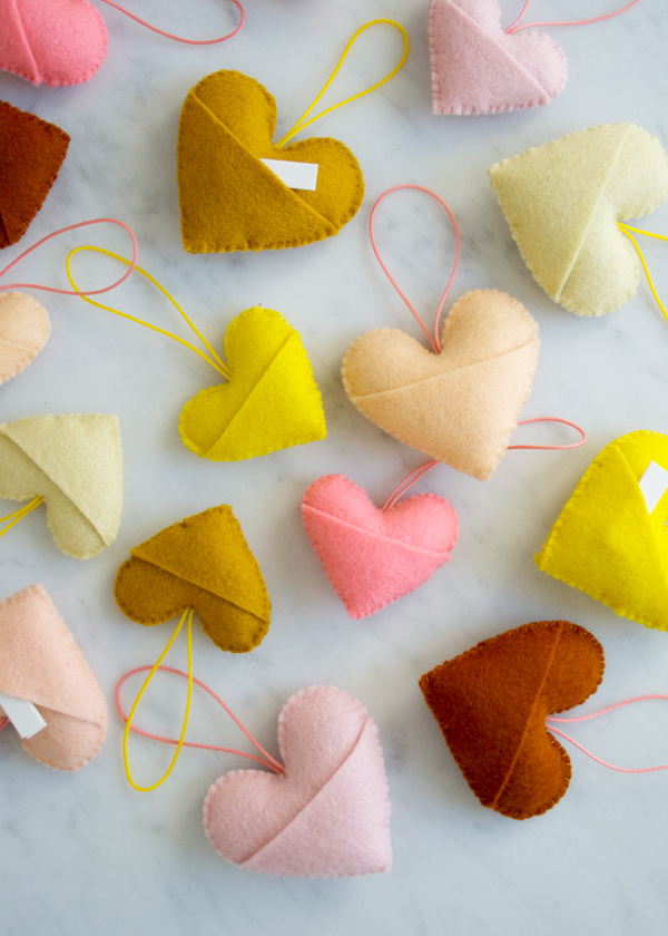 How-To: Felt Sweetheart Charms