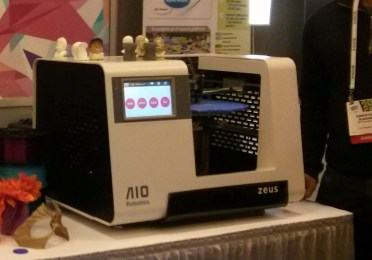 AIO Robotics Zeus at CES 2014 Photo by Matt Richardson