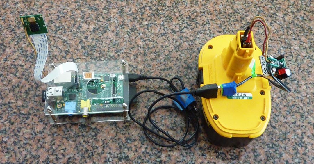 Raspberry Pi to Go: How to Wire 18v Portable Pi Power | Make: