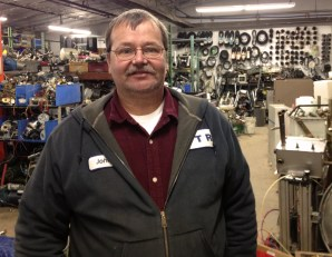 John Haines, the manager of CTR Surplus a 30,000 sq ft warehouse of electronics and parts in Crestline, Ohio