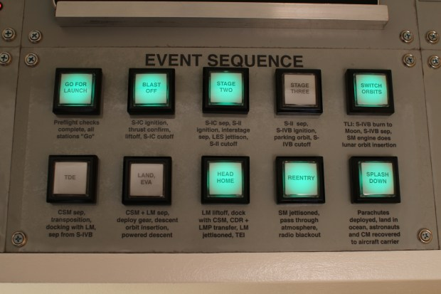 Mission Control Desk Sequence Panel